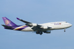 Scotchさんが、成田国際空港で撮影したタイ国際航空 747-4D7の航空フォト(写真)