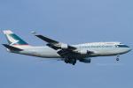 Scotchさんが、成田国際空港で撮影したキャセイパシフィック航空 747-412(BCF)の航空フォト(写真)