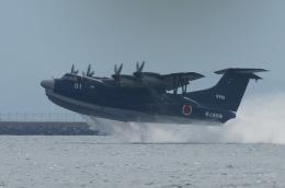 pringlesさんが、長崎空港で撮影した海上自衛隊 US-2の航空フォト(飛行機 写真・画像)