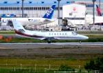 mojioさんが、成田国際空港で撮影した朝日航洋 560 Citation Ultraの航空フォト(飛行機 写真・画像)