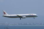 xxxxxzさんが、関西国際空港で撮影した中国国際航空 A321-232の航空フォト(飛行機 写真・画像)