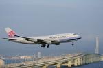 Severemanさんが、関西国際空港で撮影したチャイナエアライン 747-409の航空フォト(写真)