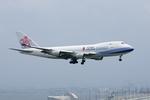 Severemanさんが、関西国際空港で撮影したチャイナエアライン 747-409F/SCDの航空フォト(写真)