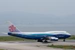 xxxxxzさんが、関西国際空港で撮影したチャイナエアライン 747-409の航空フォト(飛行機 写真・画像)