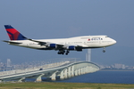 xxxxxzさんが、関西国際空港で撮影したデルタ航空 747-451の航空フォト(飛行機 写真・画像)