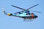 Kuuさんが、鹿児島空港で撮影した鹿児島県警察 412EPの航空フォト(飛行機 写真・画像)