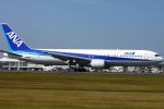 Kuuさんが、鹿児島空港で撮影した全日空 767-381の航空フォト(飛行機 写真・画像)