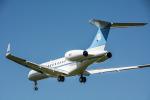 パンダさんが、成田国際空港で撮影したボツワナ国防軍 BD-700-1A10 Global Expressの航空フォト(飛行機 写真・画像)