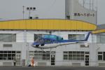 redarrowさんが、群馬ヘリポートで撮影したエクセル航空 AS355N Ecureuil 2の航空フォト(写真)