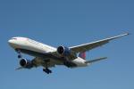 パンダさんが、成田国際空港で撮影したデルタ航空 777-232/LRの航空フォト(写真)
