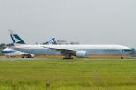 Scotchさんが、成田国際空港で撮影したキャセイパシフィック航空 777-367の航空フォト(写真)