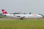 Scotchさんが、成田国際空港で撮影したスイスインターナショナルエアラインズ A340-313Xの航空フォト(写真)