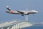 xxxxxzさんが、関西国際空港で撮影したジェットスター・アジア A320-232の航空フォト(飛行機 写真・画像)