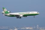 xxxxxzさんが、関西国際空港で撮影したエバー航空 MD-11Fの航空フォト(飛行機 写真・画像)
