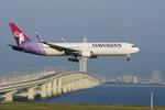 xxxxxzさんが、関西国際空港で撮影したハワイアン航空 767-3CB/ERの航空フォト(写真)