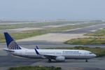 xxxxxzさんが、関西国際空港で撮影したコンチネンタル航空 737-824の航空フォト(飛行機 写真・画像)