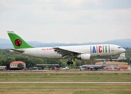 Bokuranさんが、フランクフルト国際空港で撮影したACTエアラインズ A300B4-103(F)の航空フォト(飛行機 写真・画像)