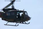 加藤飛行隊さんが、青森駐屯地で撮影した陸上自衛隊 UH-1Jの航空フォト(写真)