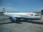 jkicさんが、レオナルド・ダ・ヴィンチ国際空港で撮影したブリティッシュ・エアウェイズ A320-232の航空フォト(飛行機 写真・画像)