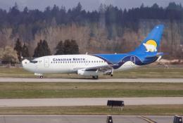 Koenig117さんが、バンクーバー国際空港で撮影したカナディアン・ノース 737-275/Advの航空フォト(飛行機 写真・画像)
