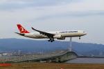 T.Sazenさんが、関西国際空港で撮影したターキッシュ・エアラインズ A330-343Xの航空フォト(飛行機 写真・画像)