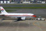 Kuuさんが、福岡空港で撮影した中国東方航空 A319-112の航空フォト(飛行機 写真・画像)