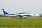 Scotchさんが、成田国際空港で撮影した全日空 777-381/ERの航空フォト(写真)