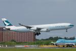 Scotchさんが、成田国際空港で撮影したキャセイパシフィック航空 A340-313Xの航空フォト(写真)