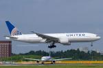 Scotchさんが、成田国際空港で撮影したユナイテッド航空 777-222/ERの航空フォト(写真)
