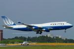 Scotchさんが、成田国際空港で撮影したユナイテッド航空 747-422の航空フォト(写真)