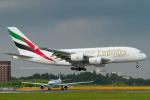 Scotchさんが、成田国際空港で撮影したエミレーツ航空 A380-861の航空フォト(写真)