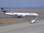 rjnsphotoclub-No.07さんが、中部国際空港で撮影したルフトハンザドイツ航空 A340-311の航空フォト(飛行機 写真・画像)