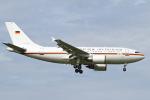 hiko_chunenさんが、成田国際空港で撮影したドイツ空軍 A310-304の航空フォト(飛行機 写真・画像)