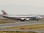 aquaさんが、関西国際空港で撮影したカーゴルクス・イタリア 747-4R7F/SCDの航空フォト(写真)