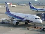 yanaさんが、中部国際空港で撮影した全日空 A320-214の航空フォト(写真)