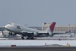 xxxxxzさんが、新千歳空港で撮影した日本航空 747-446の航空フォト(飛行機 写真・画像)