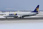 xxxxxzさんが、新千歳空港で撮影したスカイマーク 737-8HXの航空フォト(飛行機 写真・画像)