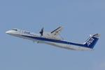 xxxxxzさんが、新千歳空港で撮影したエアーニッポンネットワーク DHC-8-402Q Dash 8の航空フォト(飛行機 写真・画像)