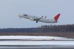 xxxxxzさんが、新千歳空港で撮影したJALエクスプレス 737-846の航空フォト(飛行機 写真・画像)