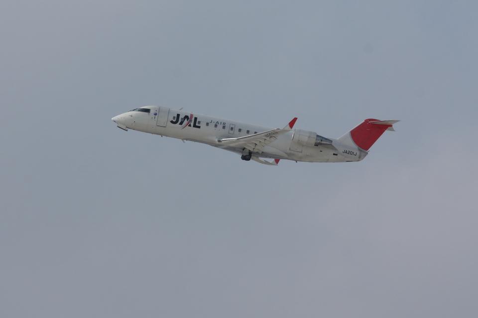 xxxxxzさんのジェイエア Bombardier CRJ-200 (JA201J) 航空フォト