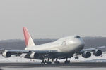 xxxxxzさんが、新千歳空港で撮影した日本航空 747-446Dの航空フォト(写真)
