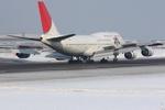 Severemanさんが、新千歳空港で撮影した日本航空 747-446Dの航空フォト(写真)