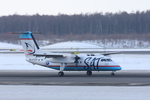 xxxxxzさんが、新千歳空港で撮影したサハリン航空 DHC-8-200Q Dash 8の航空フォト(飛行機 写真・画像)