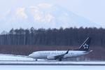Severemanさんが、新千歳空港で撮影したコンチネンタル航空 737-724の航空フォト(写真)