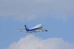 xxxxxzさんが、新千歳空港で撮影した全日空 747-481(D)の航空フォト(飛行機 写真・画像)