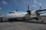 RUSSIANSKIさんが、ロンボク国際空港で撮影したメルパチ・ヌサンタラ航空 MA60の航空フォト(写真)