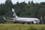 gunmano_kumasanさんが、シアトル タコマ国際空港で撮影したアラスカ航空 737-990の航空フォト(写真)
