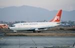 ja007gさんが、トリブバン国際空港で撮影したインディアン航空 737-2A8の航空フォト(写真)