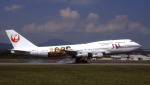 WING_ACEさんが、函館空港で撮影した日本航空 747-146B/SR/SUDの航空フォト(飛行機 写真・画像)