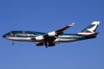 WING_ACEさんが、成田国際空港で撮影したキャセイパシフィック航空 747-467の航空フォト(飛行機 写真・画像)
